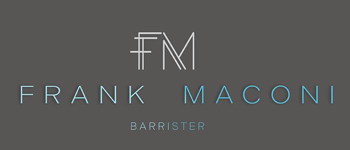 Frank Maconi Barrister